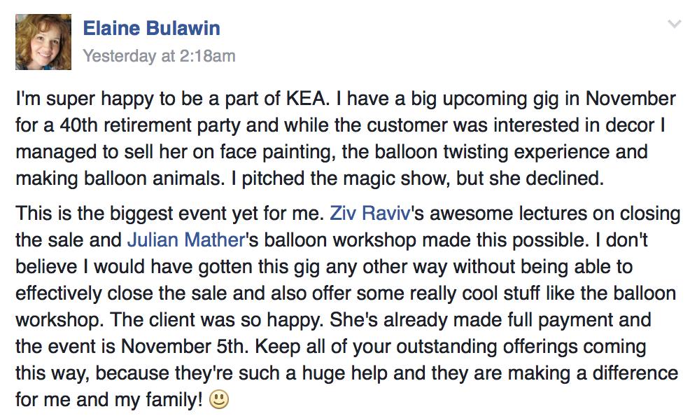 Elaine Bulawin on KEA: Monthly Roundup 1